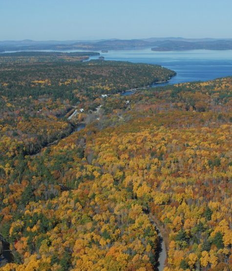 Great Lake region. Downeast Lakes Land Trust / Conservation Alliance