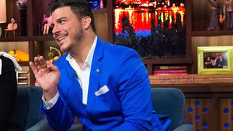 WATCH WHAT HAPPENS LIVE -- Pictured: Jax Taylor -- (Photo by: Charles Sykes/Bravo/NBCU Photo Bank via Getty Images)