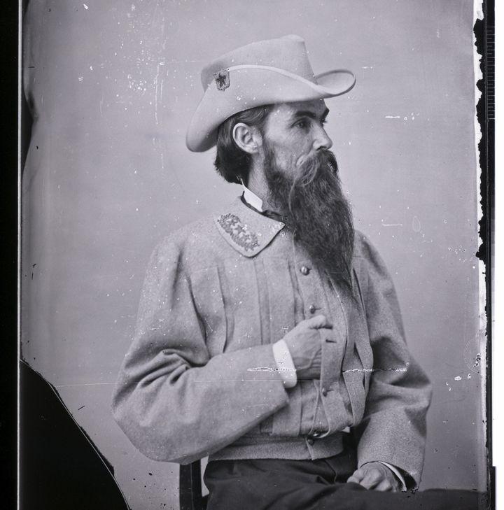 Studio portrait of General William Mahone (1826-1895).