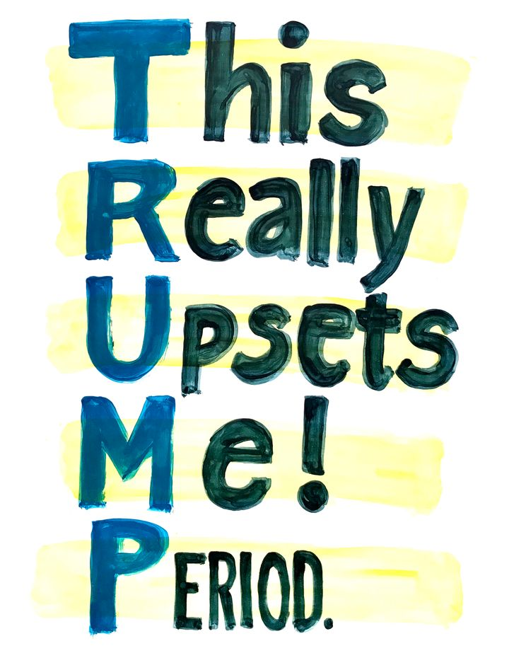 Download Your Own Anti-Trump Art Courtesy Of The 'Broad City' Ladies