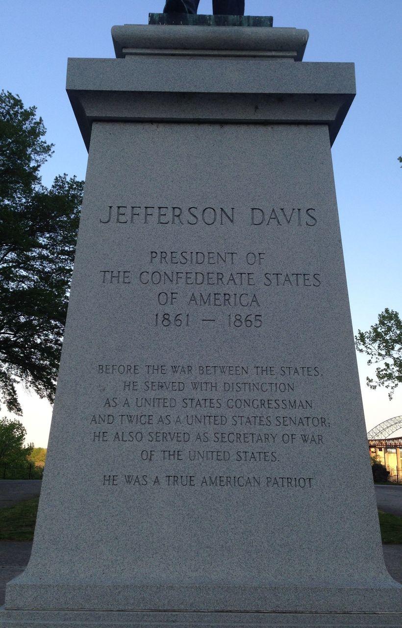 """<a rel=""""nofollow"""" href=""""http://www.memphisart.org/artwork/jefferson-davis/"""" target=""""_blank"""">Jefferson Davis statue in Memphis"""