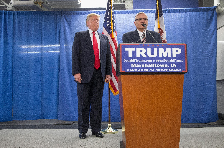 Image result for trump pardon arpaio