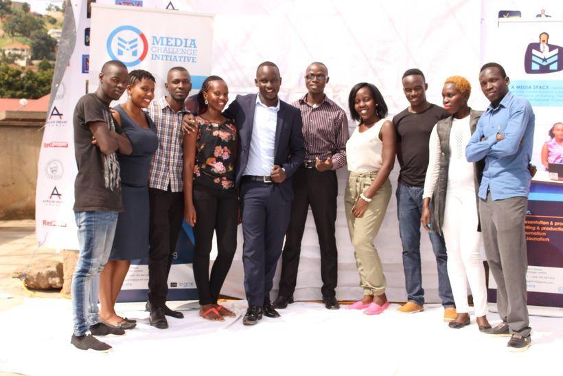 Photo of Media Challenge Initiative Team in Kampala, Uganda