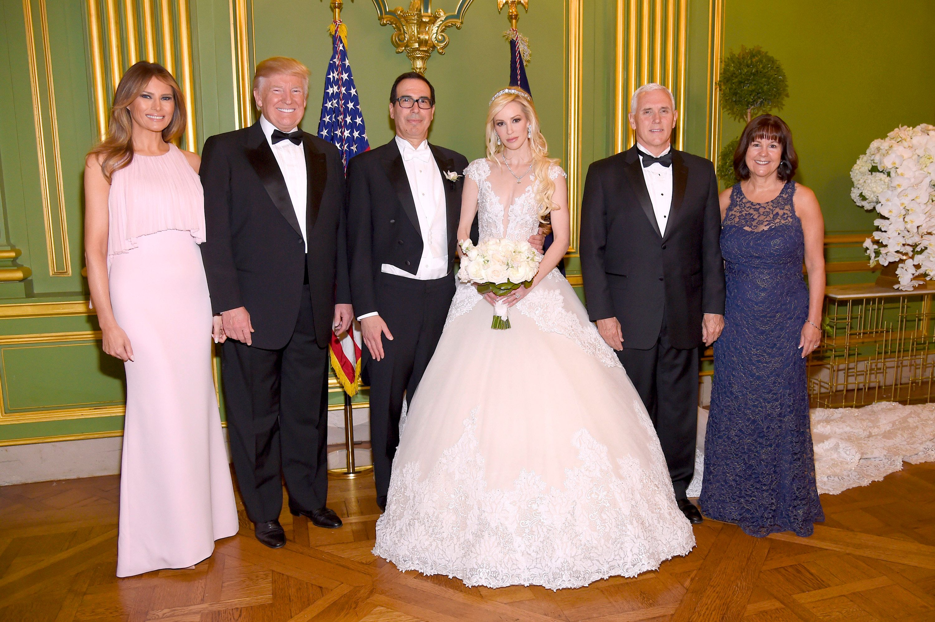 The wedding of Treasury Secretary Steven Mnuchin and actress Louise Linton in June was attended by President...