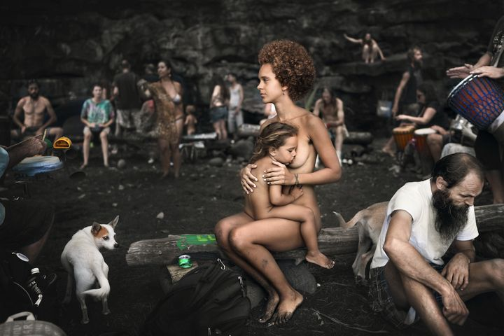 """""""My mission from the very beginning has always been to show how natural, beautiful and innocent breastfeeding is,"""" said Ivens."""