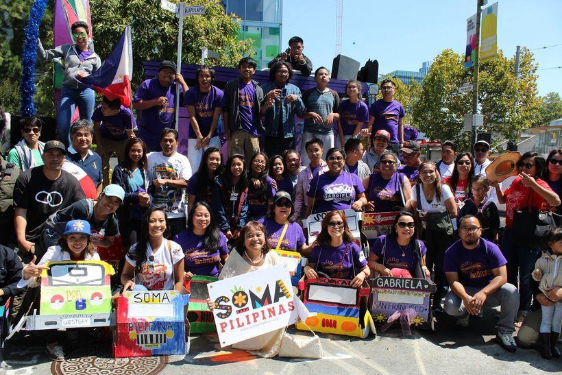 SOMA Pilipinas' cohort at the Pistahan Parade 2016 [Image: SOMA Pilipinas Facebook account]