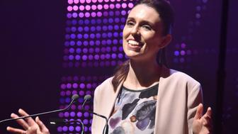 TOWN HALL, AUCKLAND, NEW ZEALAND - 2017/08/20: Labor Party leader Jacinda Ardern makes speech during the  official campaign launch at Auckland Town Hall , New Zealand on Aug 20, 2017. Jacinda Ardern is a New Zealand politician who has been the Leader of the Labour Party and Leader of the Opposition since 1 August 2017.The2017 New Zealand general electionis scheduled to be held on  23 September 2017 . Thecurrent government is National Party. (Photo by Shirley Kwok/Pacific Press/LightRocket via Getty Images)