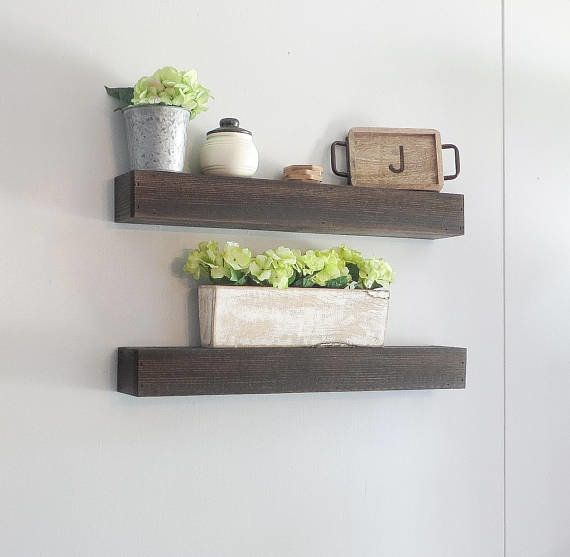 The natural beauty and the sleek organization of these shelves make it a perfect gift for the nature-loving, practical v