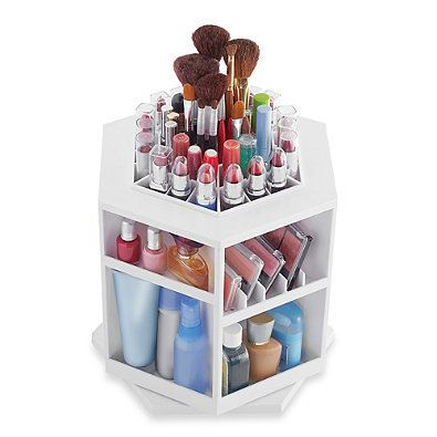 With storage for every makeup product you can think of, this cosmetic organizer appeals to the meticulous side of virgos. <a