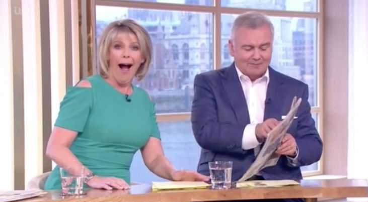 Ruth Langsford Laughs Off Detractors After Finding Out Her Less-Than-Impressive 'Strictly'