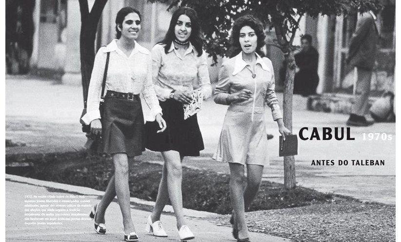 Cómo esta foto de mujeres en minifalda cambió la estrategia de Trump en