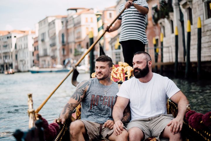 Former Olympian Gets Proposed To In Venice, And The Pics Are