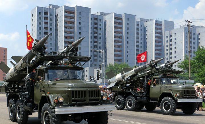 North Korea Victory Parade, 2013