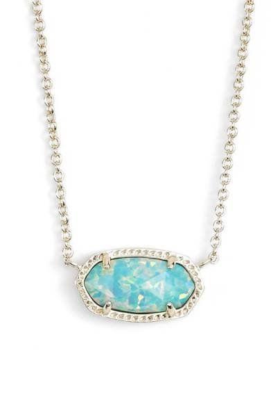 "Shop it <a href=""http://shop.nordstrom.com/s/kendra-scott-elisa-pendant-necklace/3803423?origin=keywordsearch-personalizedsor"