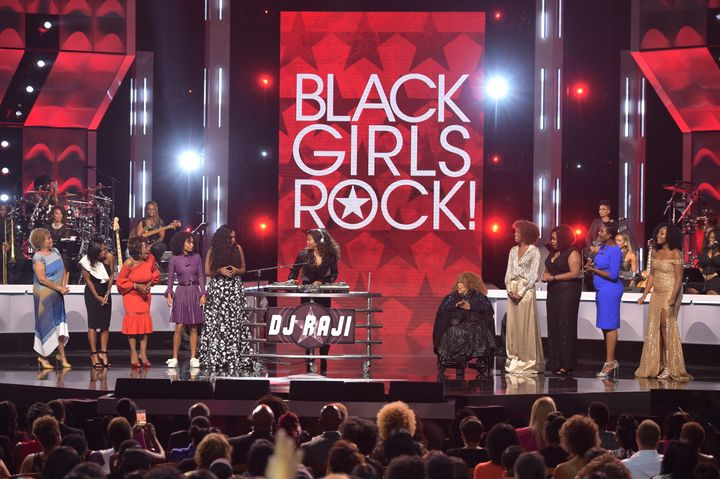 Taraji P. Henson performs onstage during Black Girls Rock! 2017 at NJPAC.