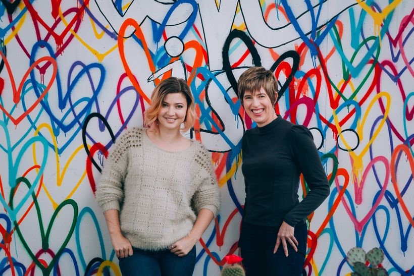 The co-founders of myLAB Box, Ursula Hessenflow (left) and Lora Ivanova bring solutions to a major healthcare problem.
