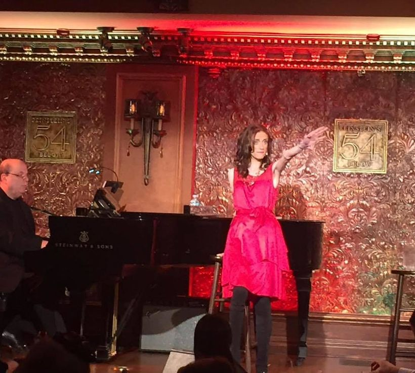 Performing Gutless & Grateful at 54 Below in New York