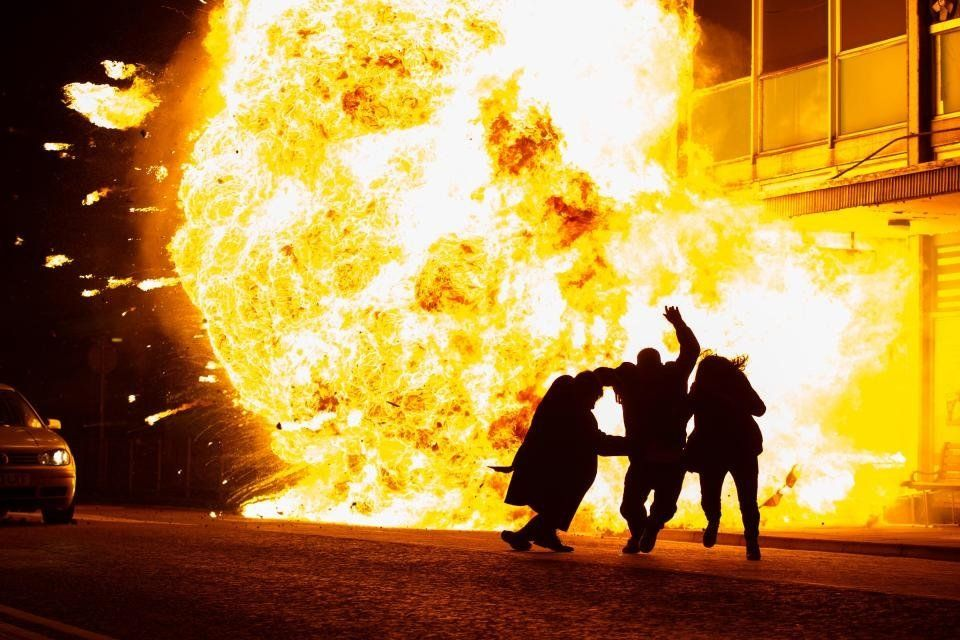 Huge Explosion Set To Kill Off Unidentified Character In