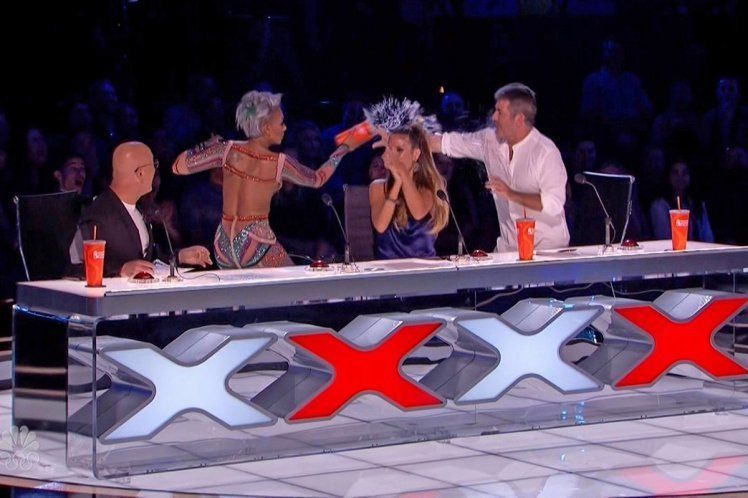 Mel B walks off 'America's Got Talent'