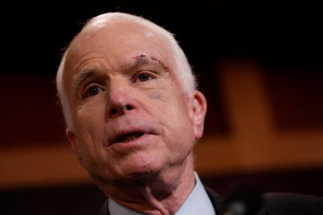 Trump slammed fellow Republican John McCain during the