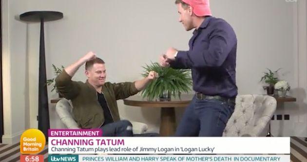 Channing Tatum is wowed