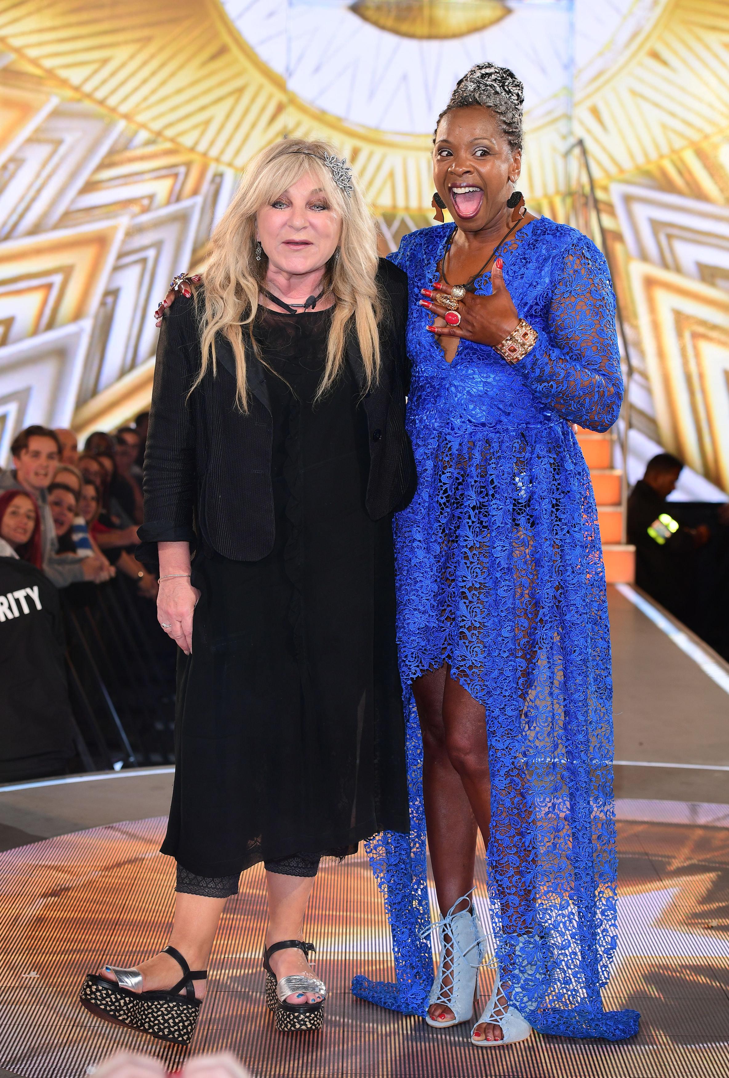 Helen Lederer and Sandi Bogle were evicted from 'Celebrity Big
