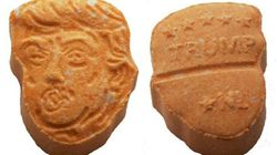 Donald Trump's Orange Face Makes It Onto 5,000 Ecstasy