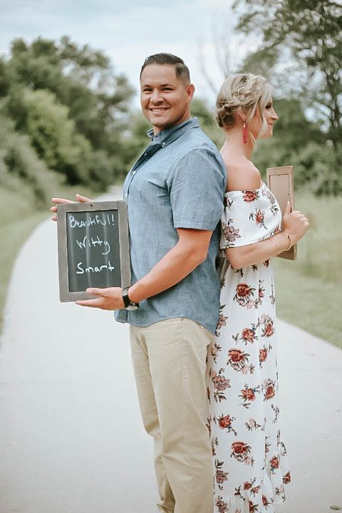 Woman Surprises Husband With Unexpected Pregnancy Announcement During Romantic Photoshoot Huffpost Uk Parents