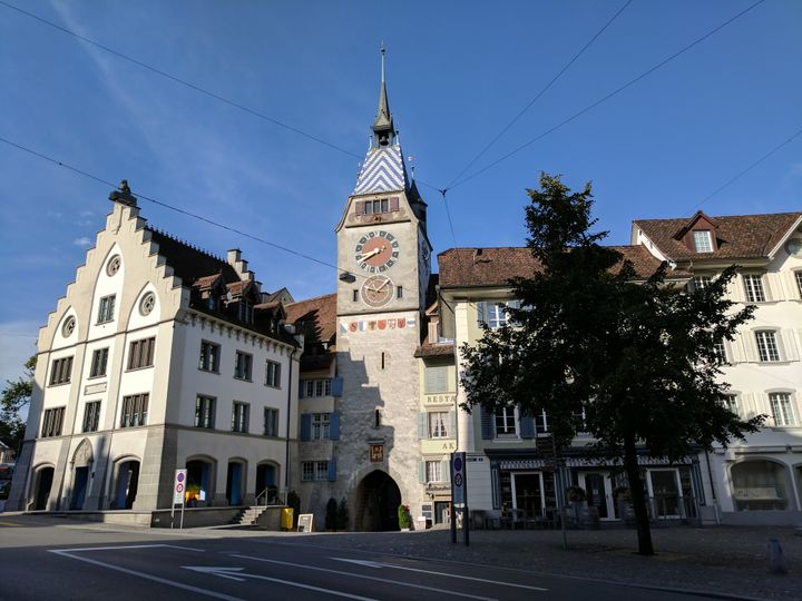 <p>Nestled in the heart of Switzerland, Zug features many old, historic buildings.</p>