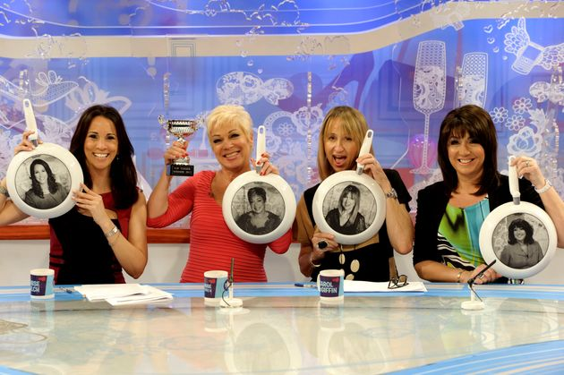 Jane with her old 'Loose Women'
