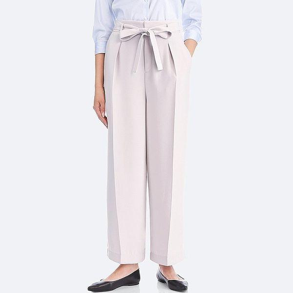 """<a href=""""https://www.uniqlo.com/us/en/women-high-waist-ribbon-wide-leg-pants-400561.html"""" target=""""_blank"""">Get them now</a>.&n"""