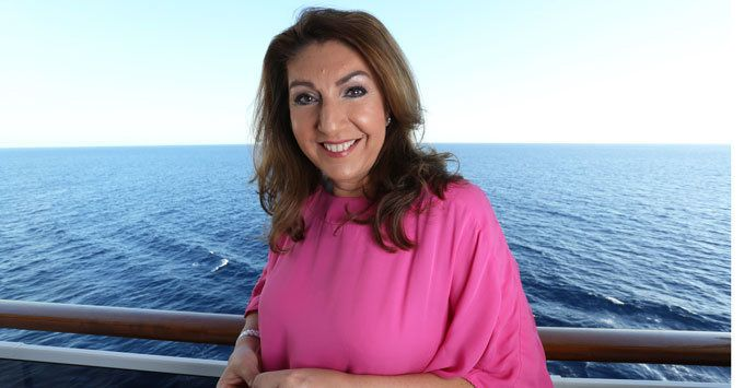 Jane McDonald Talks Getting Legless At Sea During Filming For New Series Of 'Cruising'