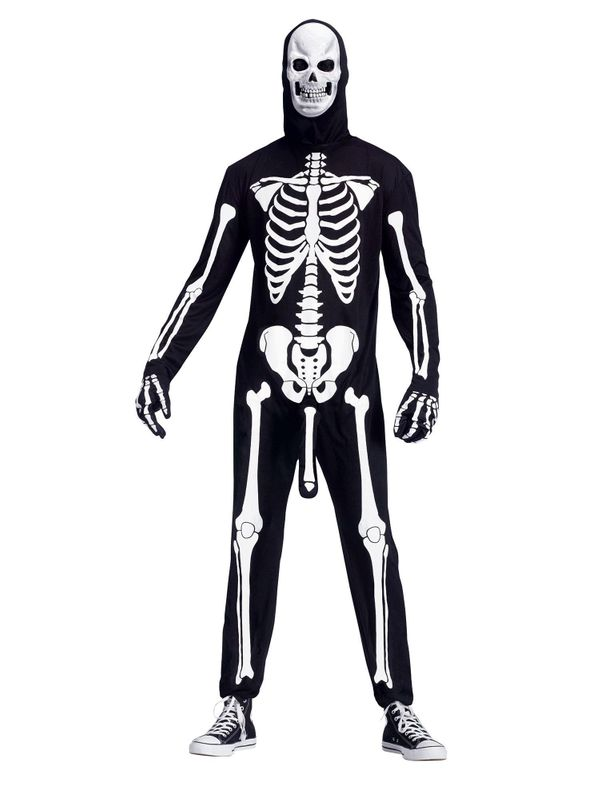 Previously when I looked at skeleton costumes, I always felt like they were missing something, but I couldn't quite put my fi