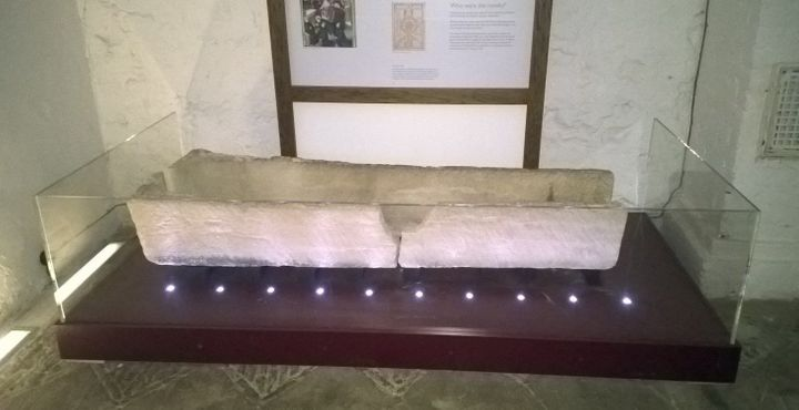 This 800-year-old coffin was damaged after someone placed a child inside for a photo, according to the museum where it was on display.