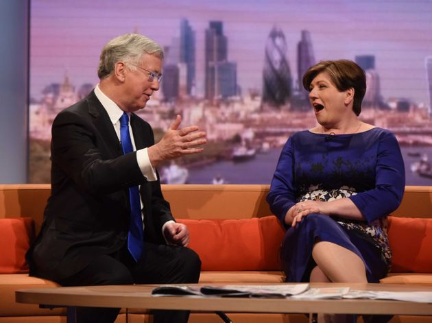 Michael Fallon taunted by Emily