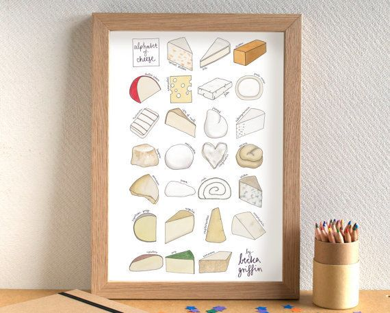 """<a href=""""https://www.etsy.com/listing/77103109/cheese-alphabet-print-cheese-art-cheese?ga_order=most_relevant&ga_search_t"""