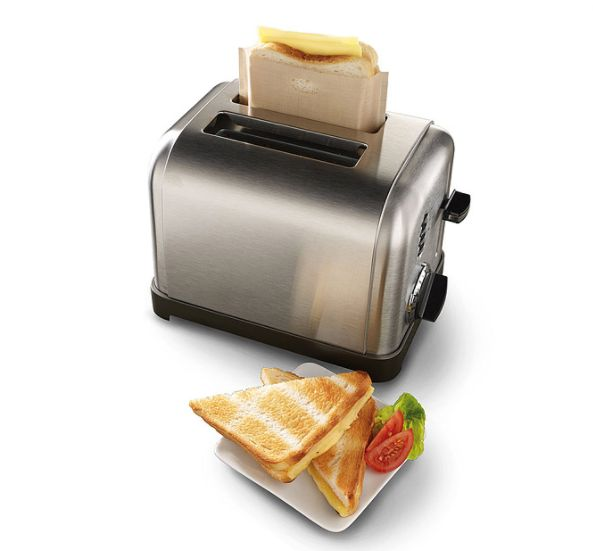 """For the person who wants the perfect grilled cheese, but with an easy clean-up. <a href=""""https://www.uncommongoods.com/produc"""