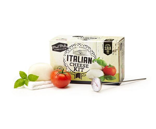 """For those who prefer to see how the sausage, er, cheese, is made. <a href=""""https://www.uncommongoods.com/product/italian-chee"""