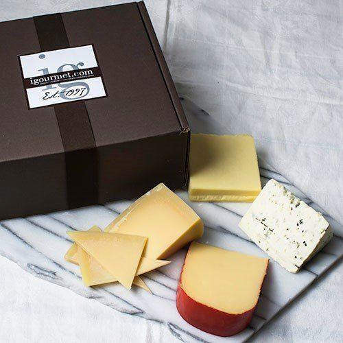 "Dutch gouda! Australian cheddar! <a href=""http://www.igourmet.com/shoppe/Four-Continents-of-Cheese-in-Gift-Box.asp?src=froogl"