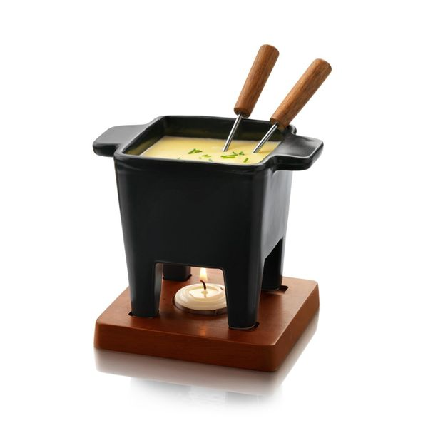 """I'll stop the world and melt with you...while we melt some cheese in this fondue pot.<a href=""""https://www.amazon.com/dp"""