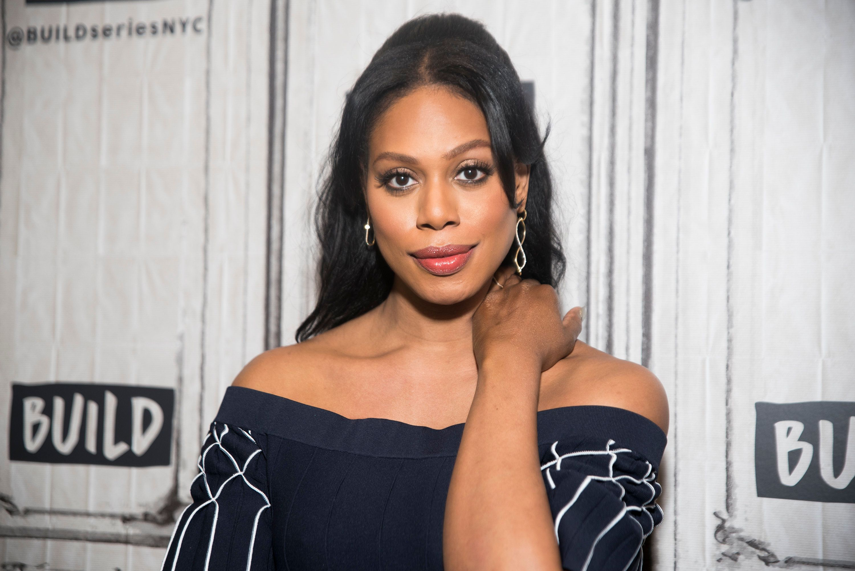NEW YORK, NY - FEBRUARY 15:  Laverne Cox attends AOL Build Series at Build Studio on February 15, 2017 in New York City.  (Photo by Jenny Anderson/WireImage)