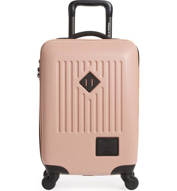 "We'd probably avoid canvas suitcases as they probably can't take a beating too well. <a href=""http://shop.nordstrom.com/"