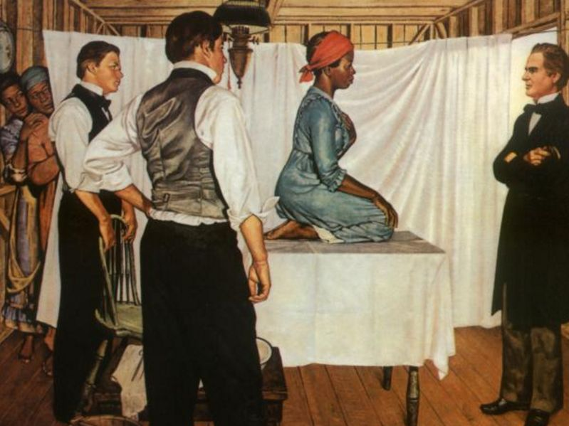 Anarcha and Dr. J. Marion Sims