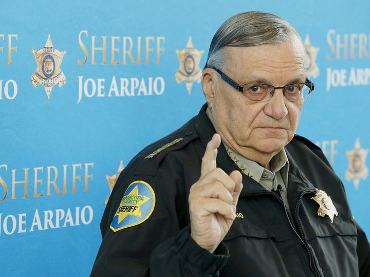 Former Sheriff Joe Arpaio is currently jailed for violating civil rights of Americans in defiance of a court order.