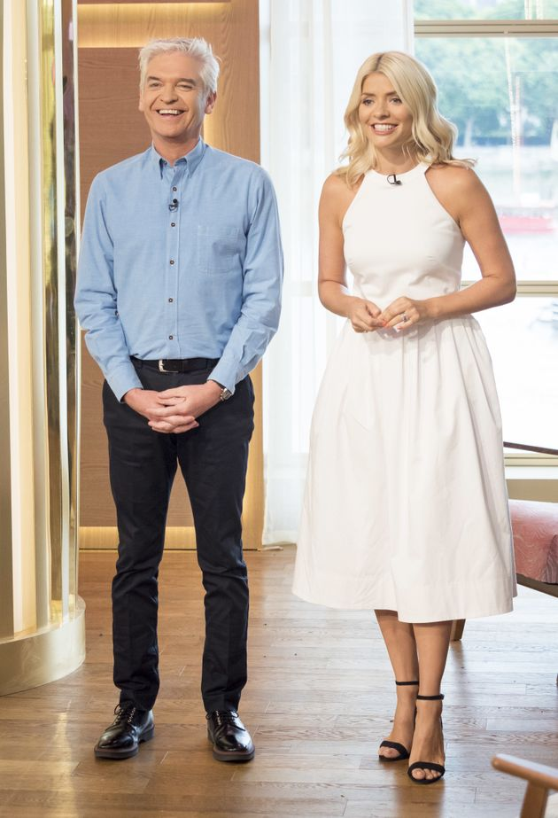 Holly and Phil have worked together for 11