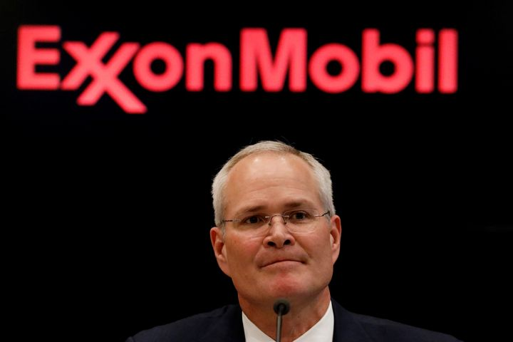 """Darren Woods, chairman and CEO of Exxon Mobil Corp., has <a href=""""https://www.bloomberg.com/news/articles/2017-02-23/exxon-s-"""