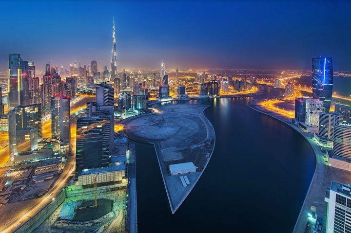 There's a buzz around Business Bay, Dubai's latest hotspot.