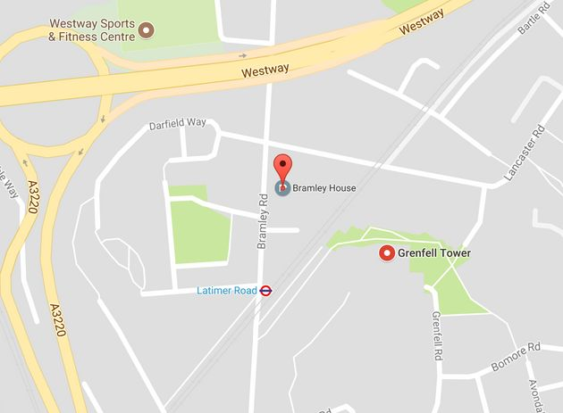 Bramley House is only about 100m from Grenfell