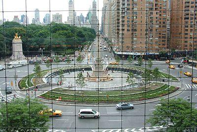 New York City's Columbus Circle.