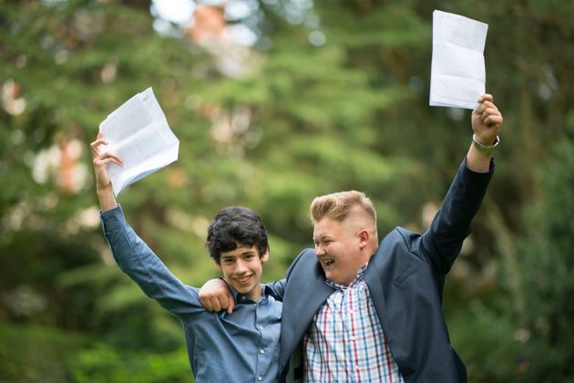 Boys received more grade 9s in